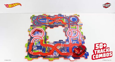 Hot Wheels Puzzle Track Set