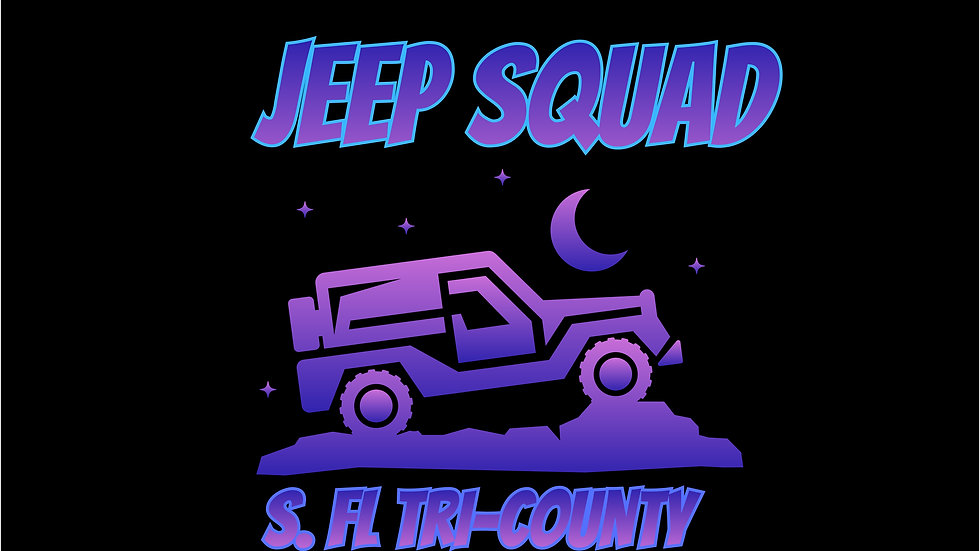 Video premiere of Jeep Squad S. FL Tri County on Saturday's June 19 Pull up event.