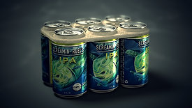 "SALTWATER ""Edible Six Pack Rings"""