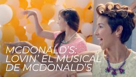 McDonalds Lovin' el musical de McDonald's starring Leslie Grace