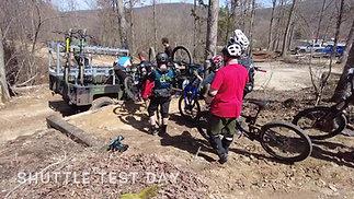 New DH Park Shuttle Test Day - Shepherd Mountain Bike Park
