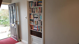 Secret Door with faux books