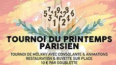 Finale tournoi du Printemps parisien 2019 (1/2)