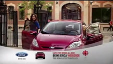 Ford - Being Erica Branded Sponsorship