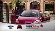 Ford - Being Erica Branded Sponsorship