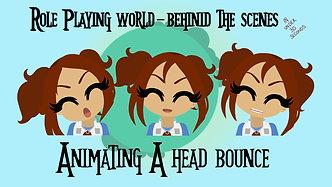 RPW BTS - Rayne Head Bounce Animation
