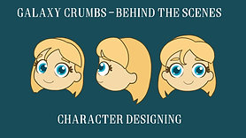 Galaxy Crumbs BTS - Character Design