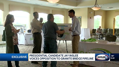 Jay Inslee opposes Granite Bridge - WMUR