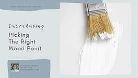 Picking The Right Interior Wood Paint