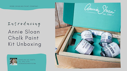Annie Sloan Paint Kit Unboxing