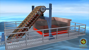 Ramp Concept - Model demonstrating coupling, collection and separation of oil at the boom interface