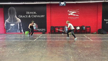 Choreography Run-Sword and Shield SPT