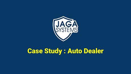JAGA - case study - Auto dealer