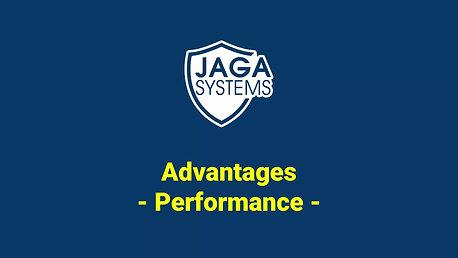 JAGA radar : performance advantage