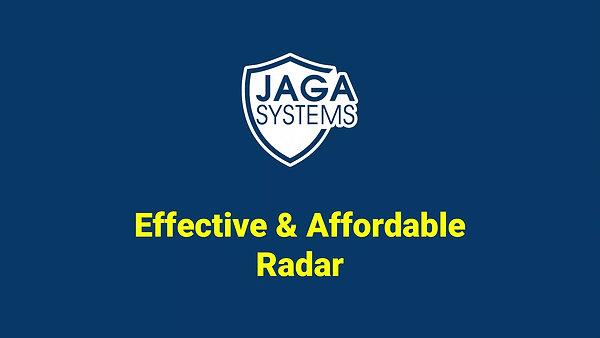 JAGA radar - introduction