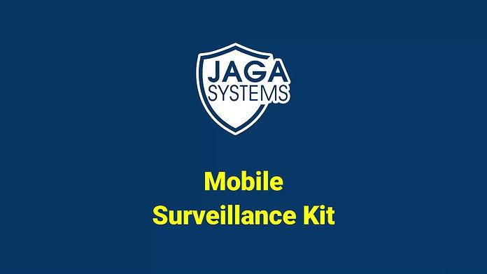 JAGA radar - mobile surveillance kit