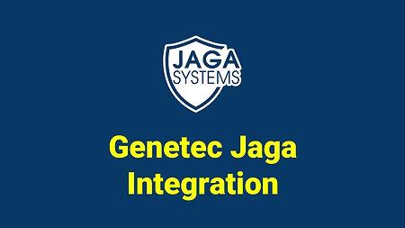 JAGA integration : Genetec