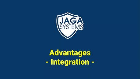JAGA radar :  integration  advantage