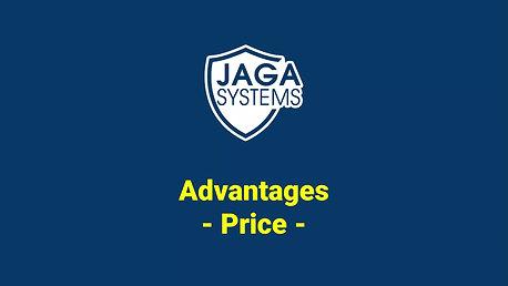 JAGA radar : price  advantage