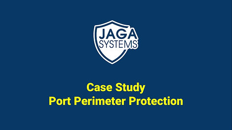 JAGA Systems. Case study for port perimeter intrusion detection system.