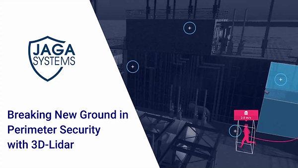 JAGA perimeter security using laser (LiDAR)