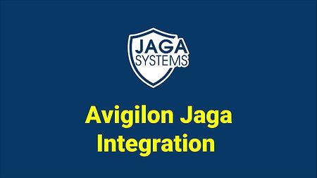 JAGA integration : Avigilon