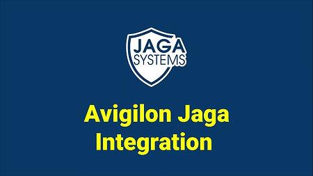 JAGA Integration : Avigilon1