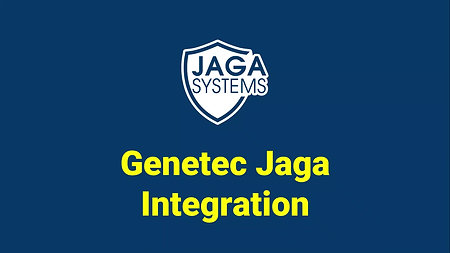 JAGA Integration : Genetec1