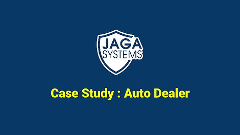 JAGA Systems. Case study for auto dealer yard for intrusion detection system.
