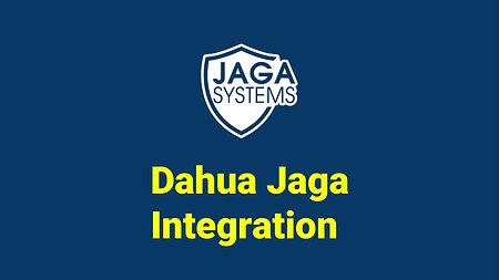 JAGA integration : Dahua
