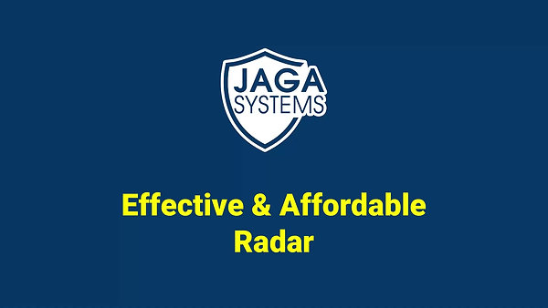 JAGA radar introduction