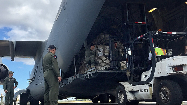 US Military Delivers Food to World Missions Outreach in Nicaragua