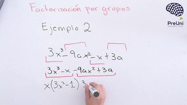 Factorizacion por grupos 2