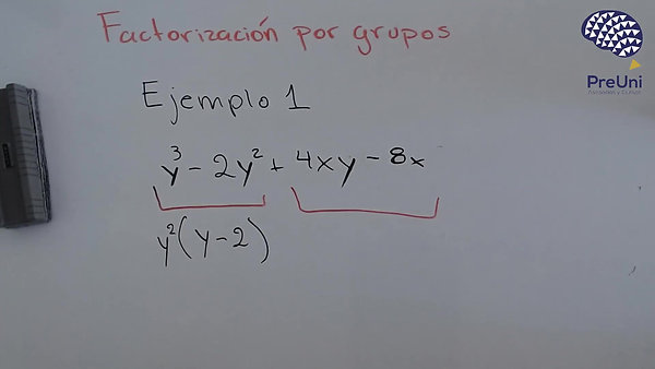 Factorizacion por grupos 1