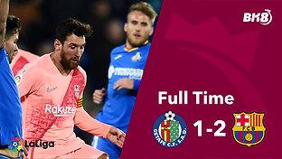 Getafe vs Barcelona - Match Day 18