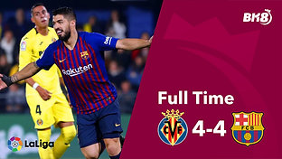 Villarreal vs Barcelona - Match Day 30