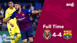 Villarreal vs Barcelona - Match Day 30