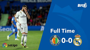 Getafe vs Real Madrid - Match Day 34