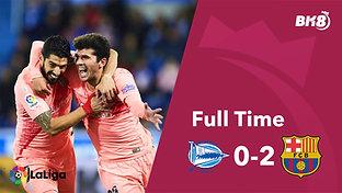 Alaves vs Barcelona - Match Day 34