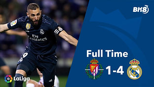 Valladolid vs Real Madrid - Match Day 27