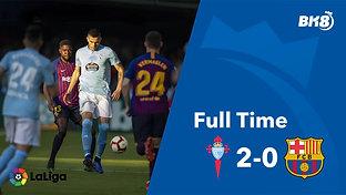 Celta Vigo vs Barcelona - Match Day 36