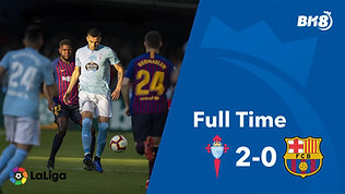 Celta Vigo vs Barcelona - Match Day 36