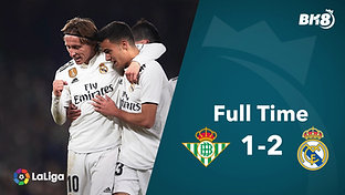 Betis vs Real Madrid - Match Day 19