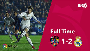 Levante vs Real Madrid - Match Day 25