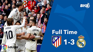 Atletico Madrid vs Real Madrid - Match Day 23