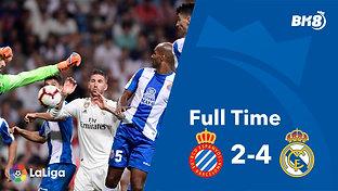Espanyol vs Real Madrid - Match Day 21