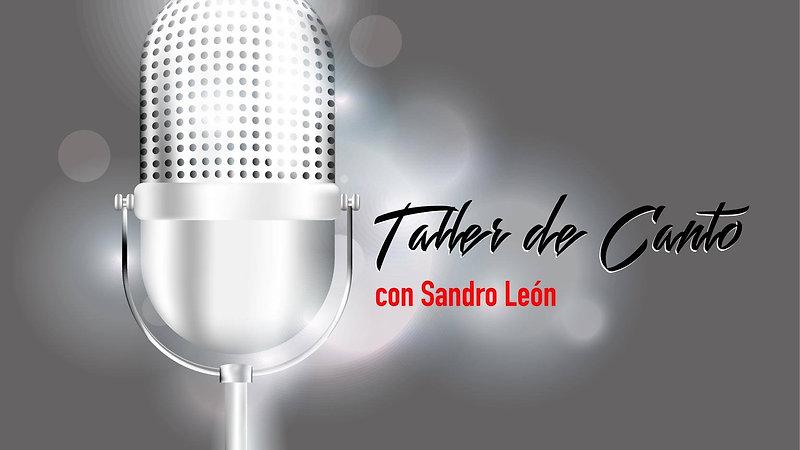 Talleres de Canto de Sandro León