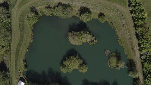 Predator lake drone footage