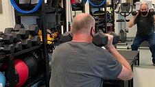 Shoulder Press with Squat