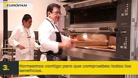 EUROPAN - Demo de equipo para panadería